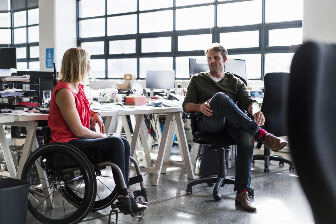 La Semaine européenne pour l'emploi des personnes handicapées veut améliorer leur insertion professionnelle