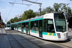 Le tramway parisien prolongé jusqu'à la Porte d'Asnières