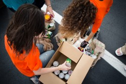 Gilets jaunes: la banque alimentaire inquiète pour la collecte nationale de nourriture