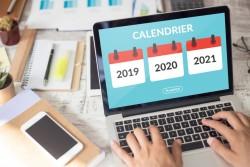 Calendrier des jours fériés2019 2020 2021