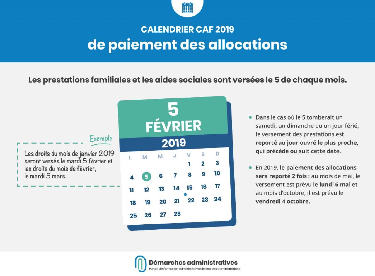 Dates De Versement 2019 Des Prestations Caf