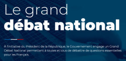 Grand débat national : organisation et participation