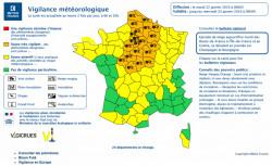 Neige: départements en vigilance et conseils des autorités