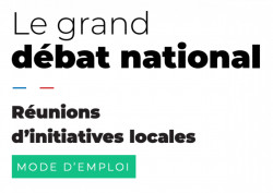 Grand débat national : comment organiser un débat local ?