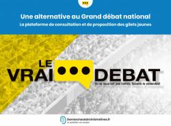 Le Vrai débat: les Gilets jaunes lancent leur plateforme de propositions