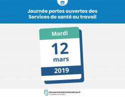 SSTI: portes ouvertes mardi 12 mars des Services de Santé au Travail Interentreprises