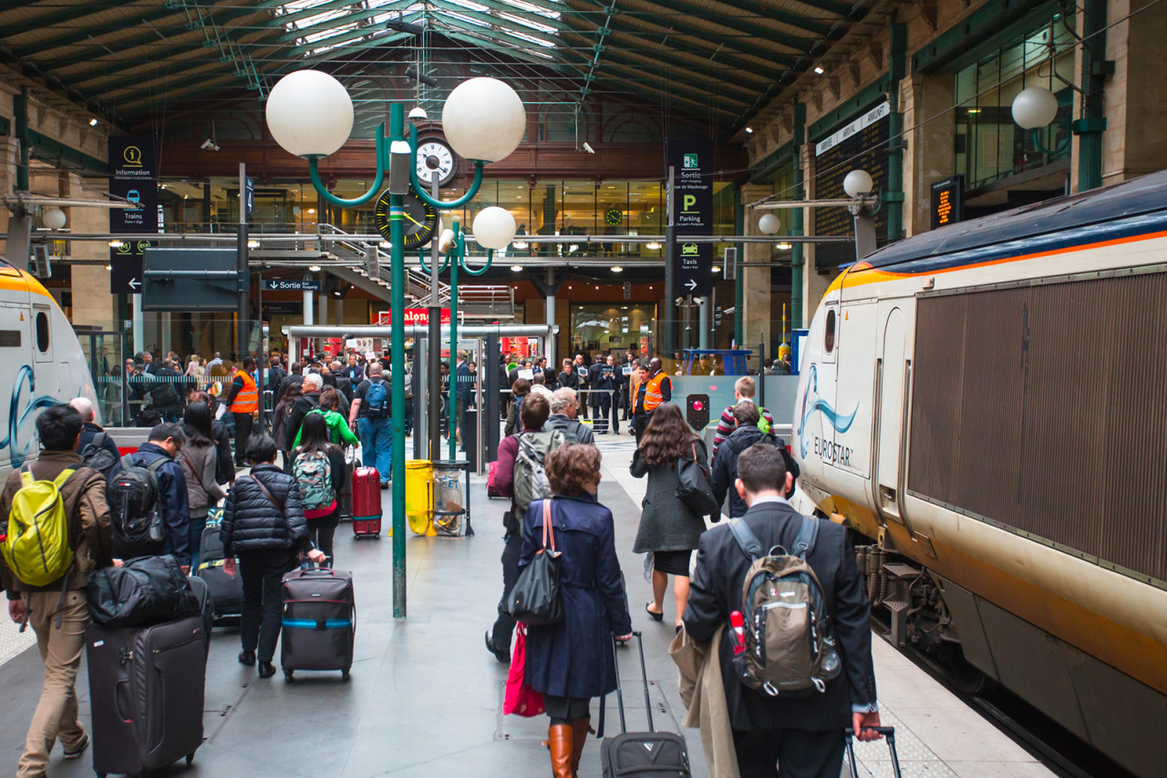 La ligne Eurostar perturbée par la grève des douaniers français
