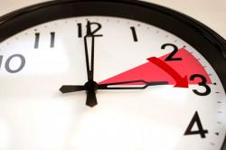 À 2 heures il sera 3 heures : changement d'heure dimanche