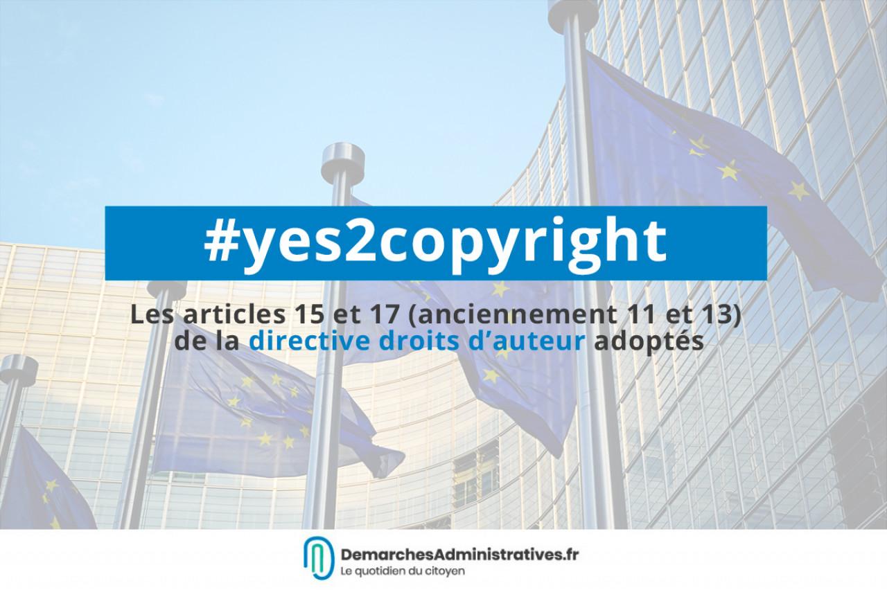 La directive européenne sur les droits d'auteur finalement adoptée