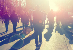 Participer à une manifestation interdite est puni de 135€