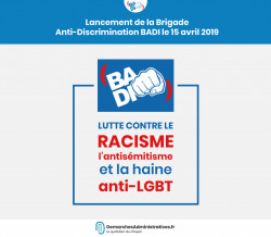 Brigade anti-discrimination lancée sur Facebook