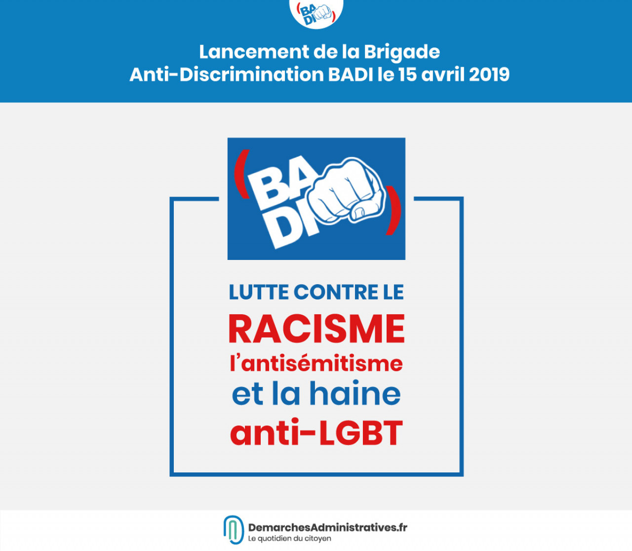 Lancement d'une brigade anti-discrimination sur Facebook