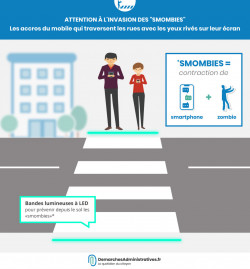 Sensibiliser les « smombies » aux accidents de la route