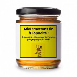 Pétition pour l'étiquetage obligatoire de l'origine du miel