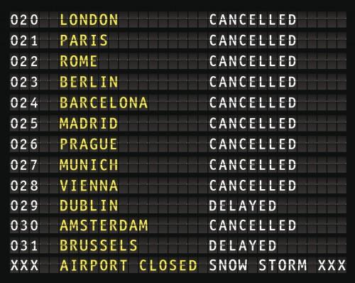 Remboursement des vols annulés dus à la faillite d'une compagnie aérienne