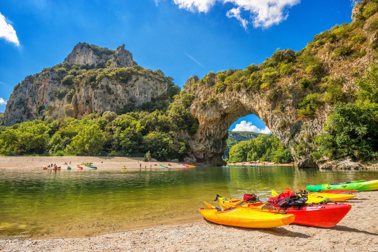L'alcool est interdit dans les Gorges de l'Ardèche jusqu'au 30 septembre