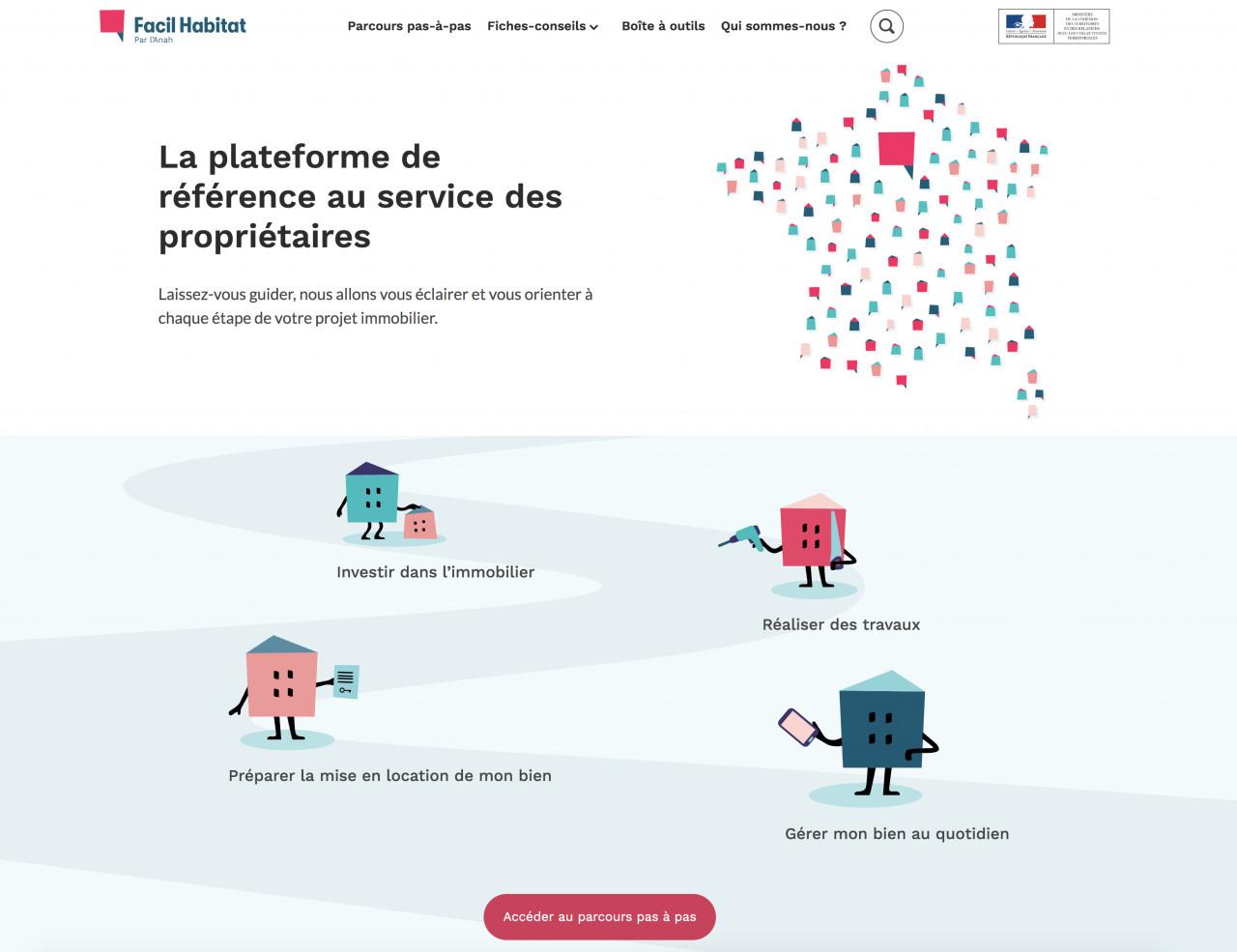 Facilhabitat.gouv.fr accompagne les propriétaires dans leurs démarches