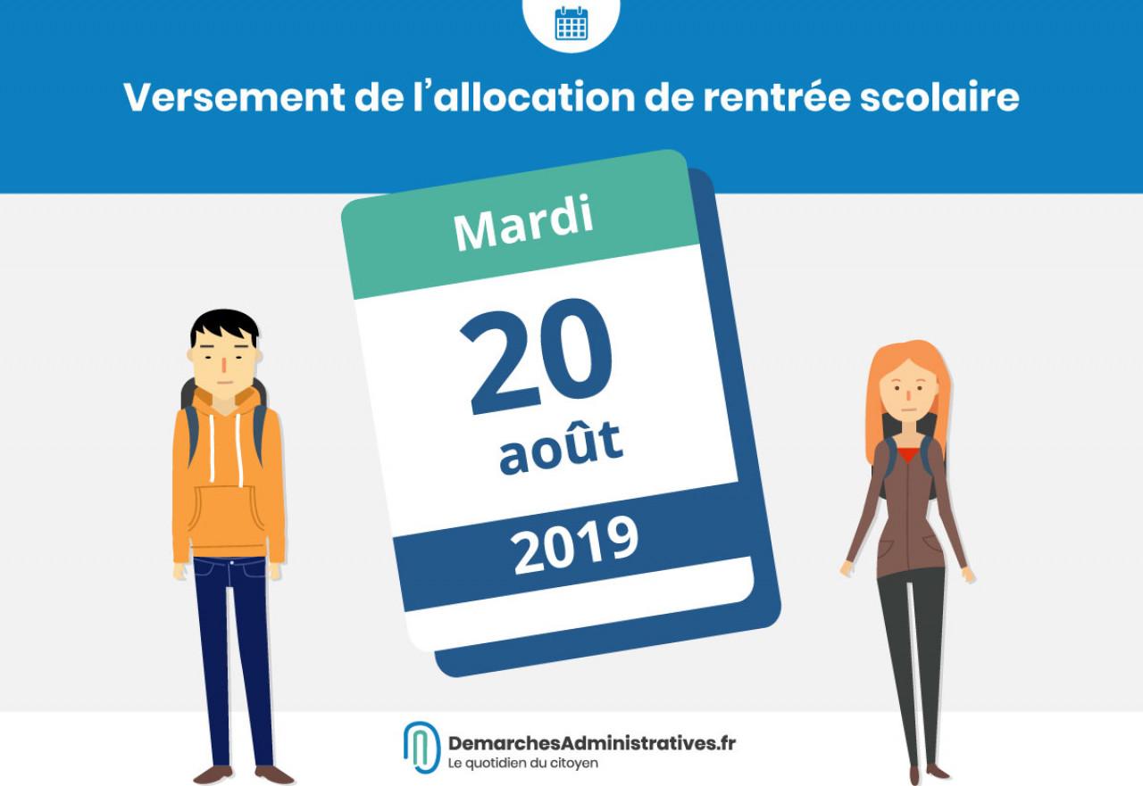 Calendrier Paiement Rsa 2019.Date De Versement Ars 2019
