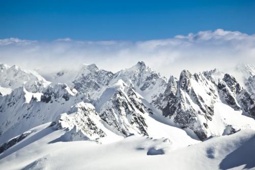 Présence de microplastiques dans les Alpes et l'Arctique