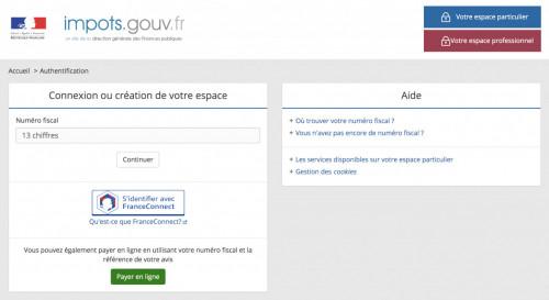 Accès au site impots.gouv.fr renforcé après un piratage de comptes