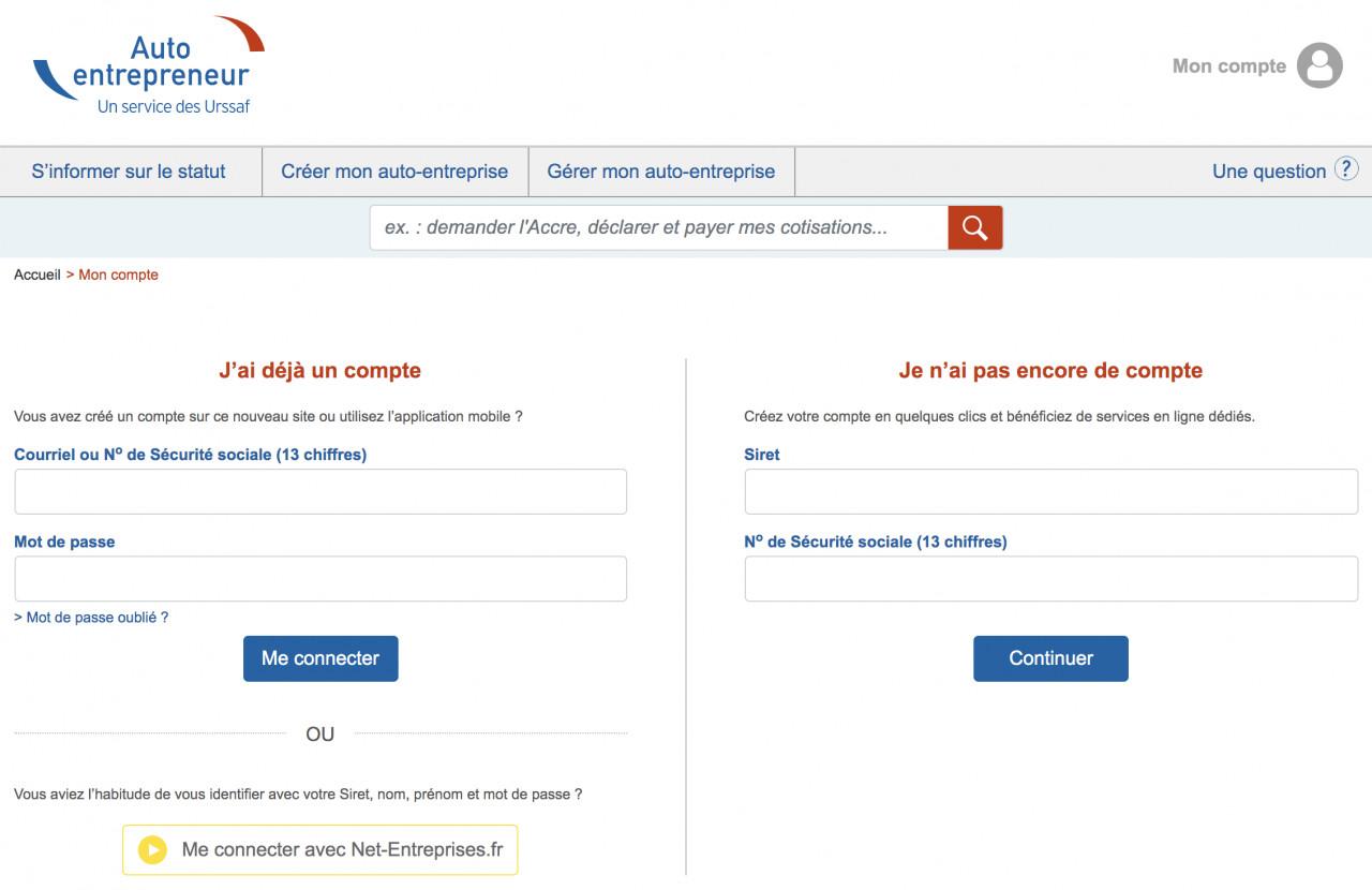 Micro-entreprises : Les déclarations et paiements s'effectuent uniquement sur autoentrepreneur.urssaf.fr depuis le 2 septembre