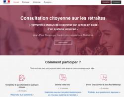 Consultation citoyenne sur les retraites : Plateforme en ligne, débats en région et réunions locales