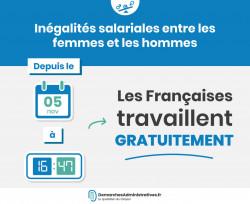 Inégalités salariales femmes-hommes: Les Françaises «travaillent gratuitement» depuis le 5 novembre 2019 à 16h47