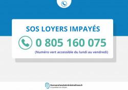 «SOS loyers impayés» accompagne les locataires et propriétaires en cas de difficultés