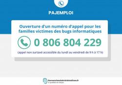 Pajemploi +: Un numéro d'appel pour les familles victimes des bugs informatiques
