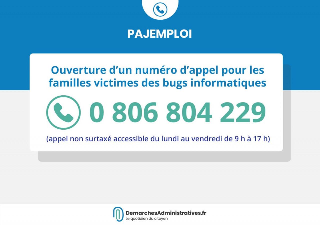 Pajemploi + : Un numéro d'appel pour les familles victimes des bugs informatiques