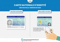Nouvelle carte d'identité à partir d'août 2021