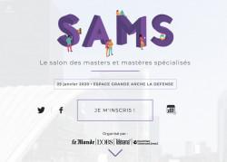 Salon des masters et mastères spécialisés le 25 janvier 2020