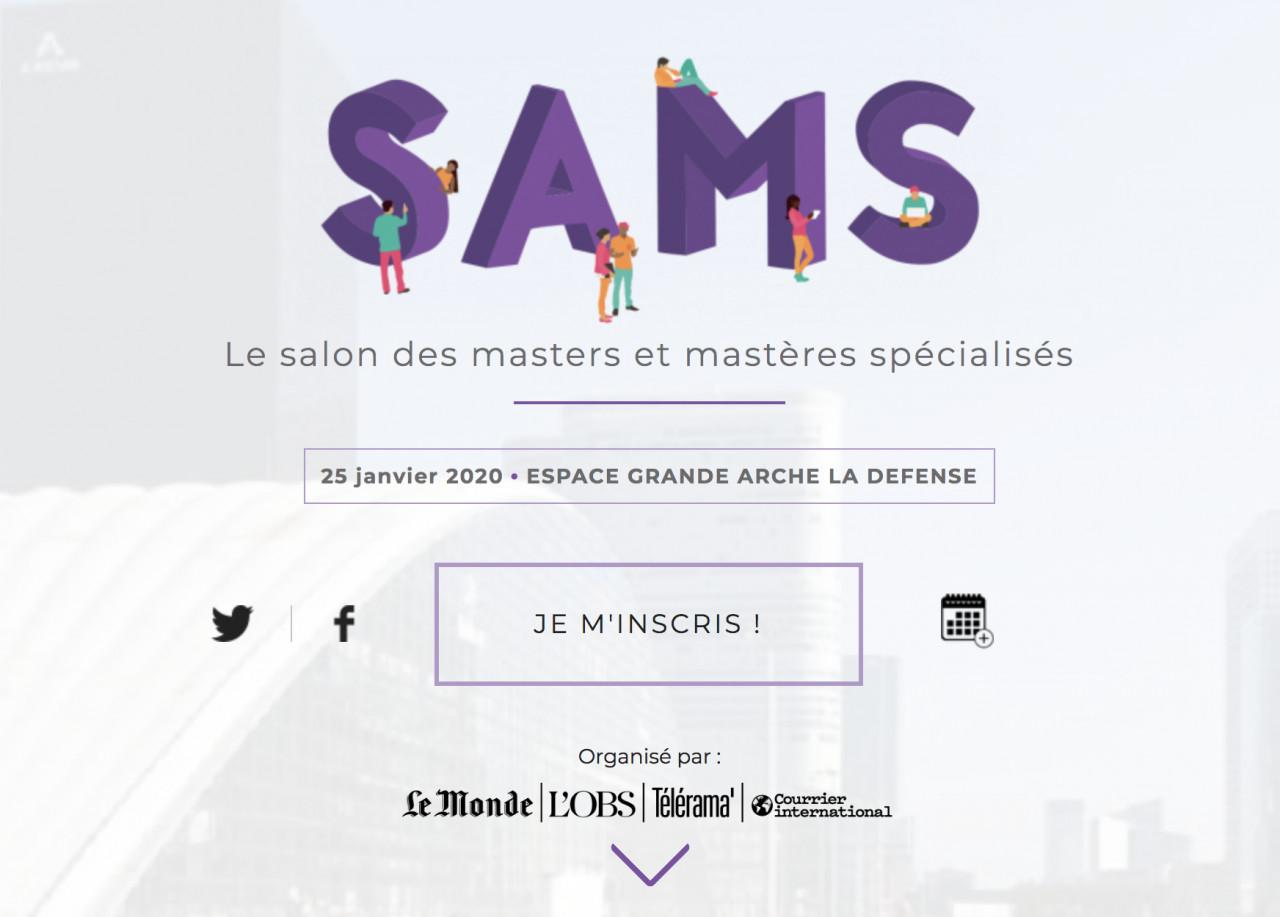 Le salon des masters et mastères spécialisés2020 aura lieu le 25 janvier à Paris
