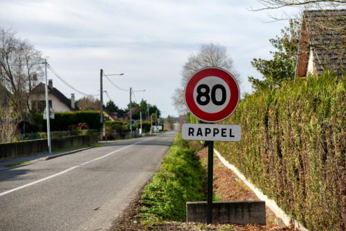 Conditions pour relever la vitesse à 90 km/h sur les routes