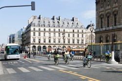 Une carte interactive des pistes cyclables temporaires dans le Grand Paris