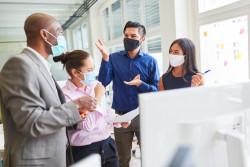Le masque en entreprise : questions pratiques