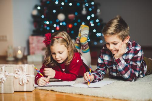 Envoyez les lettres de vos enfants au secrétariat du Père Noël