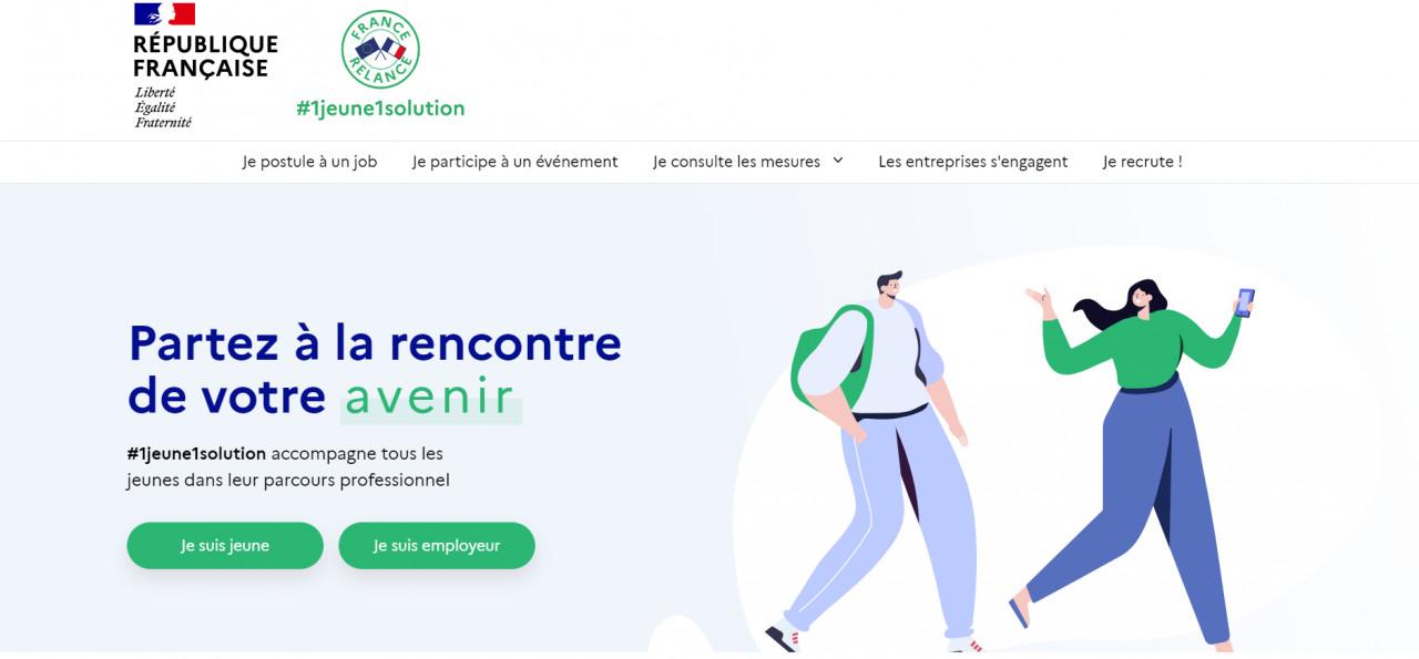 1jeune1solution :  un site dédié à l'emploi des jeunes