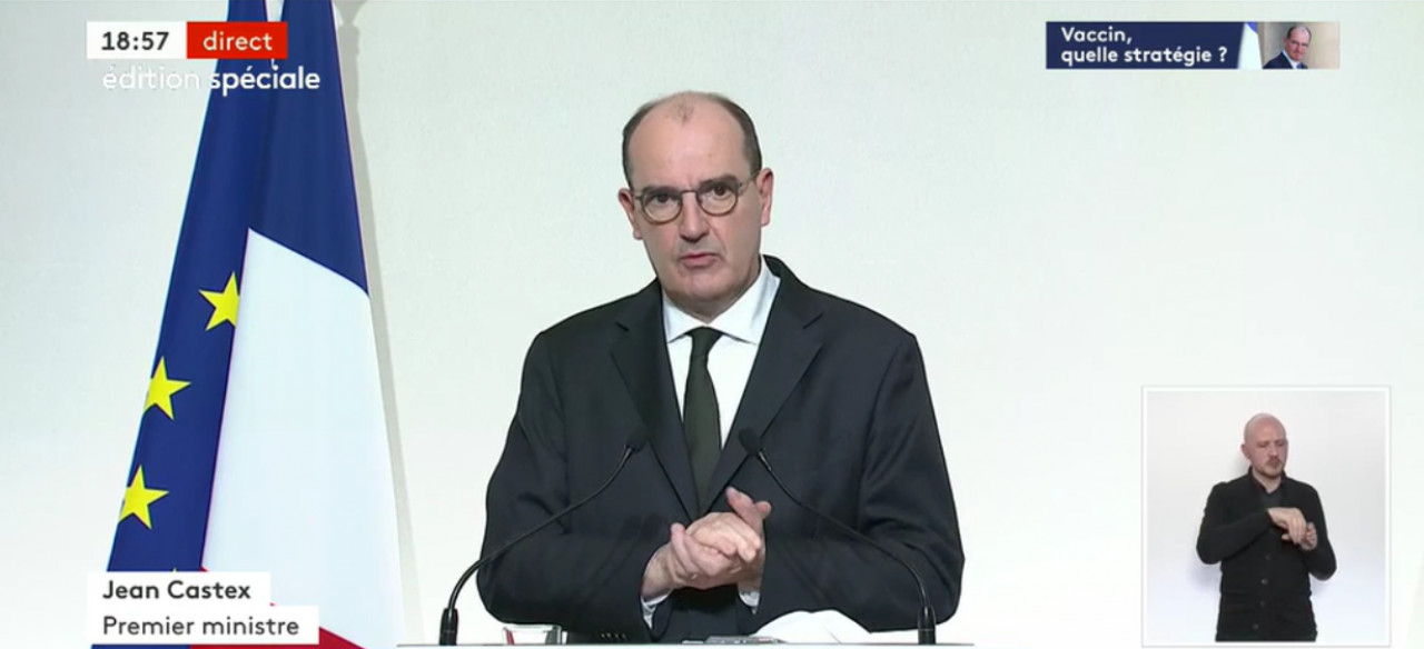 Jean Castex dévoile la stratégie de vaccination