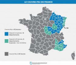 Couvre-feu à 18 heures : de nouveaux départements concernés