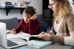 École à la maison : les problèmes techniques se multiplient