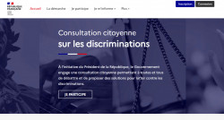 La consultation citoyenne sur les discriminations est lancée