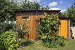La taxe sur les abris de jardin revue à la hausse pour 2018