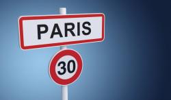 La vitesse limitée à Paris presque dans toutes les rues