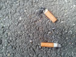 Mégots de cigarettepar terre: la ville de Lille met en place une amende de 68euros