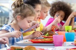 Cantine de l'école publique: au moins 50% de produits bio ou écologiques en 2022
