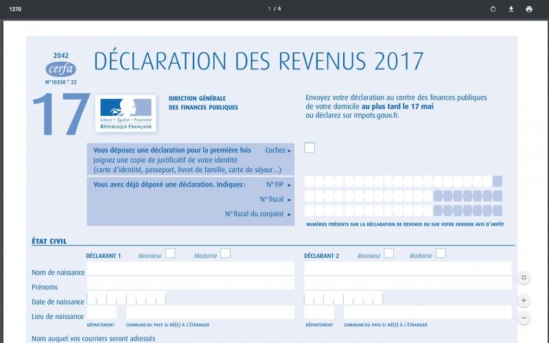 Impots 2018 Jusqu Au 17 Mai Pour Envoyer Sa Declaration Des