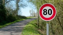 Vitesse limitée à 80 km/h sur routes secondaires à partir du 1er juillet : ce qui va changer