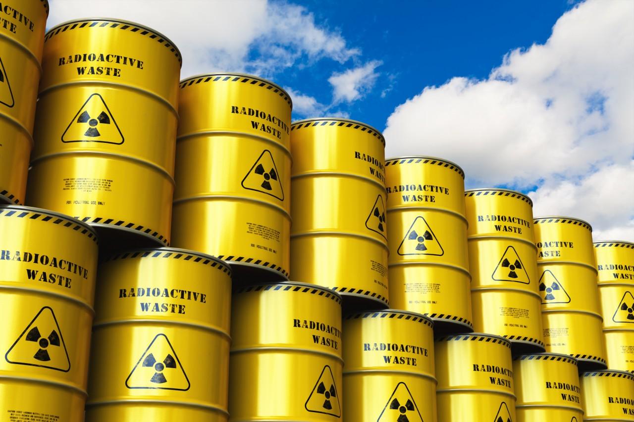 1,5 million de m3 de déchets radioactifs sont stockés en France en 2018