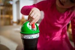 Collecte de piles pour sensibiliser au recyclage